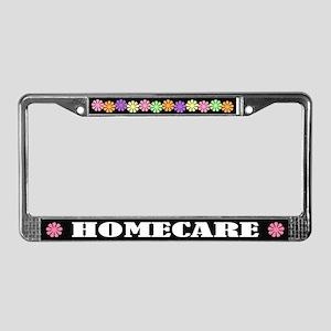 Homecare License Plate Frame