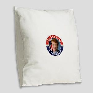 Joe Kennedy 2020 Burlap Throw Pillow