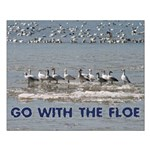 Go With the Floe Small Poster