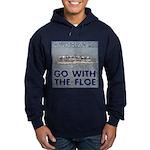 Go With the Floe Hoodie (dark)