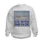 Go With the Floe Kids Sweatshirt