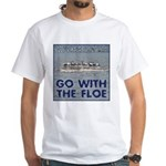 Go With the Floe White T-Shirt
