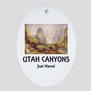 Canyonlands Oval Ornament