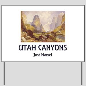Canyonlands Yard Sign