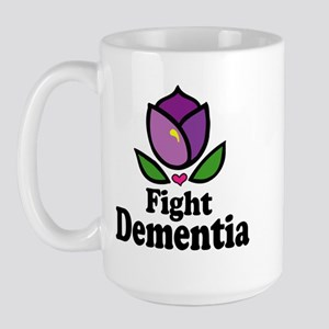 Fight Dementia Large Mug