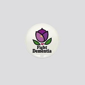 Fight Dementia Mini Button