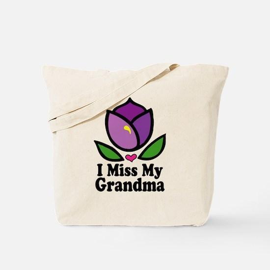 Alzheimer's Grandma Tote Bag