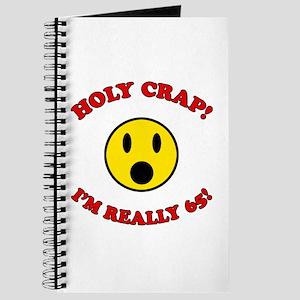 Holy Crap 65th Birthday Journal