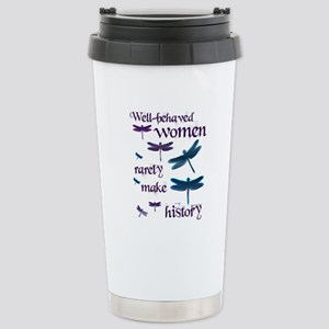 Well-behaved Women Stainless Steel Travel Mug