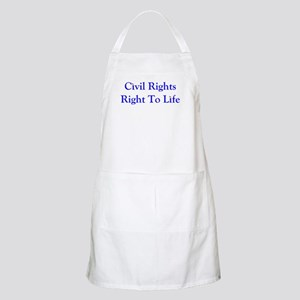 Civil Rights, Right to Life Apron