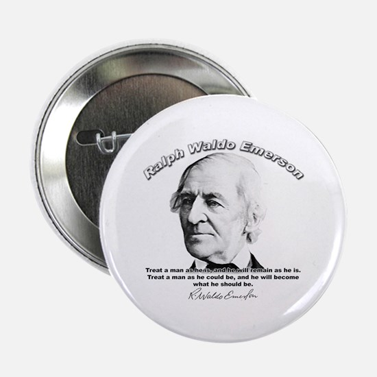 Ralph Waldo Emerson 01 Button