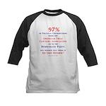 97%NoTort Kids Baseball Jersey