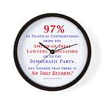 97%NoTort Wall Clock
