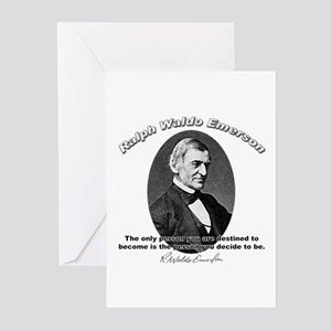 Ralph Waldo Emerson 04 Greeting Cards (Package of