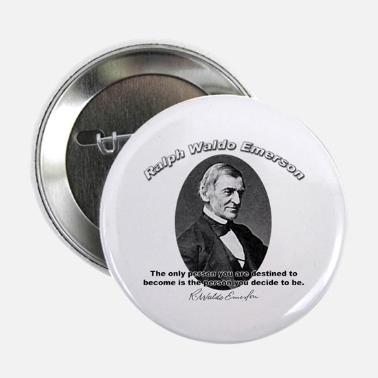 Ralph Waldo Emerson 04 Button