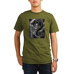 Cheshire Cat Organic Men's T-Shirt (dark)