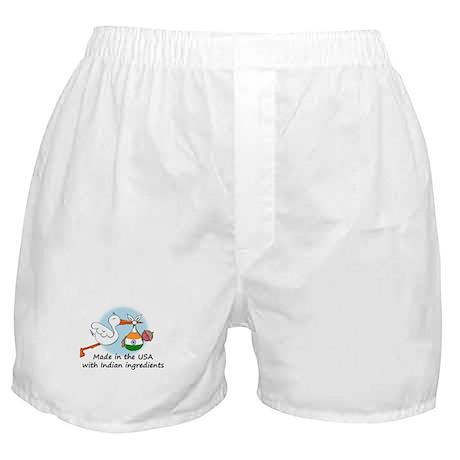 Stork Baby India USA Boxer Shorts
