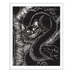Cheshire Cat Small Poster