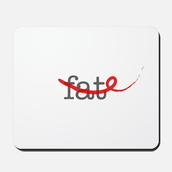Delete Fat Mousepad