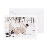 English setter Greeting Cards (10 Pack)