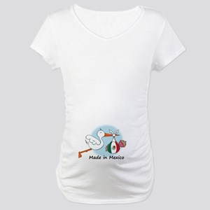 Stork Baby Mexico Maternity T-Shirt