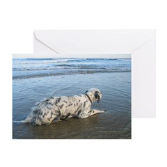 Setting Waves Greeting Cards (Pk of 10)