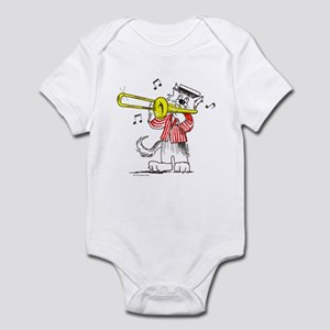 Trombone Cat Infant Bodysuit