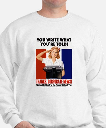Corporate News Sweatshirt