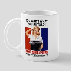Corporate News Mug