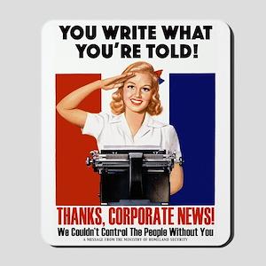 Corporate News Mousepad