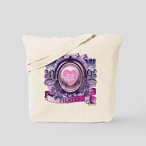 Fit for Life Pilates Victorian Velvet Tote Bag