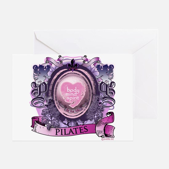 Fit for Life Pilates Victoria Greeting Card