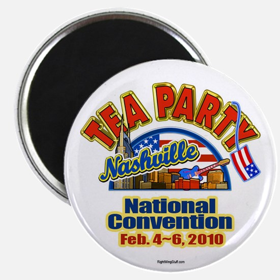 """Tea Party Convention 2.25"""" Magnet (10 pack)"""