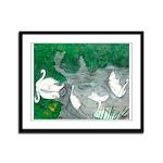 Framed Panel Print by Lee