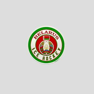 BY Belarus/Bielarus Ice Hockey Mini Button