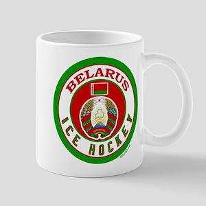 BY Belarus/Bielarus Ice Hockey Mug