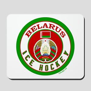 BY Belarus/Bielarus Ice Hockey Mousepad