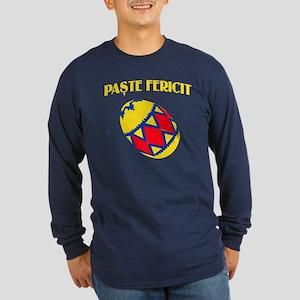 Romanian Easter Long Sleeve Dark T-Shirt