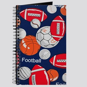 Fun Sports Blue Journal