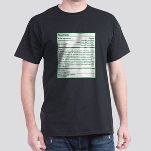 THC Drug Facts Dark T-Shirt