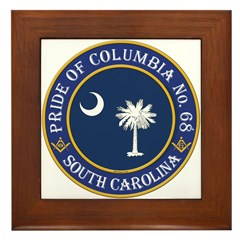 Pride of Columbia Lodge Framed Tile