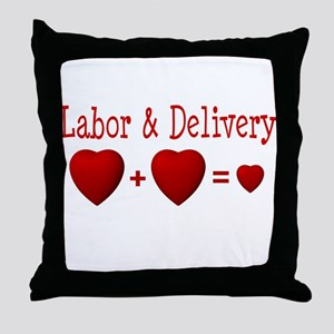 Labor & Delivery Throw Pillow