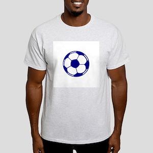 Blue Soccer Ball Light T-Shirt