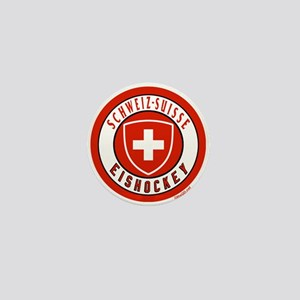 Switzerland Ice Hockey Mini Button