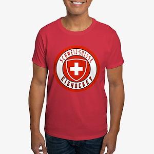 Switzerland Ice Hockey Dark T-Shirt