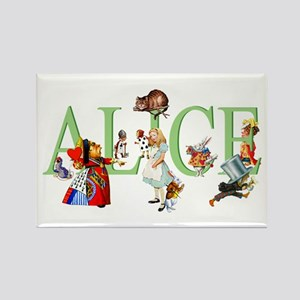 ALICE AND FRIENDS Rectangle Magnet
