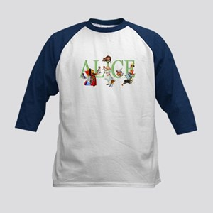 ALICE AND FRIENDS Kids Baseball Jersey