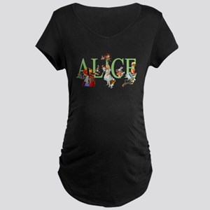 ALICE AND FRIENDS Maternity Dark T-Shirt