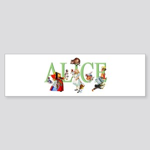 ALICE AND FRIENDS Sticker (Bumper)