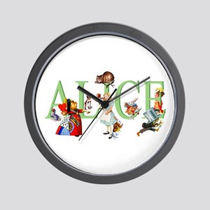 ALICE AND FRIENDS Wall Clock